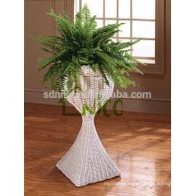 Vase -(34) home & garden furniture wicker/ PE rattan tall garden flower pot