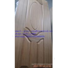 Low Price MDF/HDF Melamine / Natural Veneer Coated Moulded Door Skins