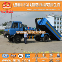 DONGFENG small tank 4X2 10 cbm 190hp rubbish garbage truck new style hot selling in China