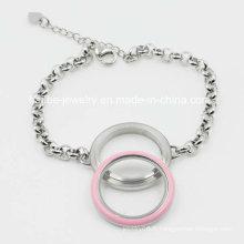 Bracelet en bijoux en acier inoxydable en imitation pour décoration