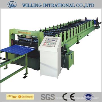 Warm galvanisiertes Stahlwand-Metallkaltgewalzte Formungsmaschine