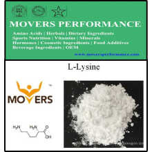 L-Lysine / L-Lysine HCl d'acides aminés de catégorie comestible d'approvisionnement d'usine