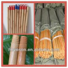Lackierter Holzstab / auf Verkauf Niedriger Preis Lackierter Besen Holzgriff / lackiert Holz