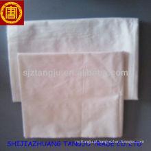 Tecido 100% algodão cinza na Índia