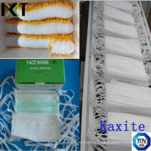 Masque facial chirurgical Fournisseur prêt-à-porter pour la protection médicale Boucles d'oreilles Types de cône relié Kxt-FM02