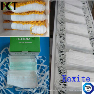 Non-Tissé Visage Masque Prêt-à-porter Fournisseur Ear Loop Tied Cone Types Kxt-FM30