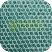 Novo estilo YT-A412 100 poliéster tricot personalizado 3D Air olhos pássaro tecido de malha para o esporte sapatos