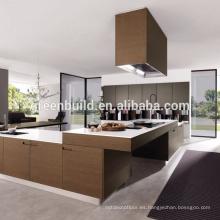 Diseño simple del gabinete de cocina de madera de Mordern
