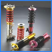 Coilover del ajuste del amortiguador del coche del alto rendimiento