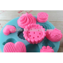 Heißer Verkauf umweltfreundliche Silikon-Eiswürfel-Behälterform, Silikonform für Süßigkeit