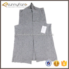 Women fashion pure knitted cashmere sweater vest