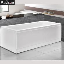 Aokeliya Italian standing bath tub and bathtub set in simple style and white color
