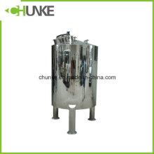 Tanque de almacenamiento de agua estéril de acero inoxidable 304 para tratamiento de agua