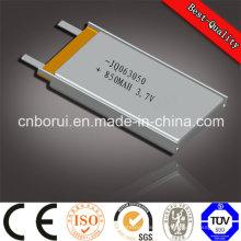 Top Qualité Marque Chine Fabricant 602535 500 mAh Lithium Polymère Batterie 3.7 V Batterie Pack