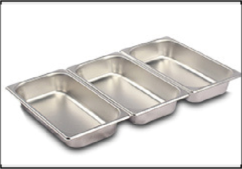 Stainless steel hot pot with visible lid