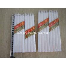 8PCS Pack Dripless Haushalt weiße Plain Candle