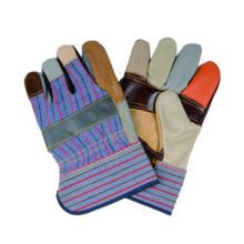 Cow Grain Split Glove, Furniture Leather Work Glove