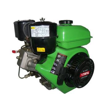 Одноцилиндровый, четырехтактный, с воздушным охлаждением, Сельскохозяйственная техника Дизельный двигатель для модели RZ170-FA TP