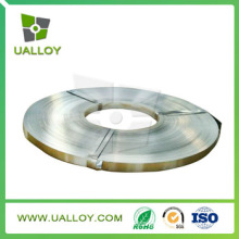Ni Cu Alloy Ribbon Uns No5500 Flat Wire for Valve