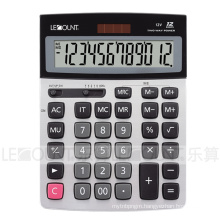 12 Digits Dual Power Desktop Calculator with Double Memory Function (LC22638A)