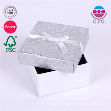 customized pretty cardboard paper gift box with lid