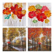 Moderne Leinwand Druck Wand Kunst Blüte Öl Leinwand Malerei