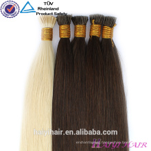 Wholesale European White Hair Double Drawn Remy 1g Stick Tip Hair Extensions