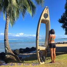 Resort Recreational Clear/Transparent/Glass Bottom PC Material Kayak for Beach