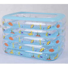5 Layers Inflatable Square Baby Swimming Pool Water Pool