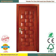 Wood MDF PVC Door PVC Folding Door Wooden Main Door