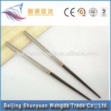 high quality portable Titanium chopsticks, camping titanium dinner tool