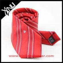 Raya personalizada con lazos de seda de Logo Men