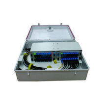 Outdoor Wall Mounted PLC Splitter Fiber Optical Distribution Box