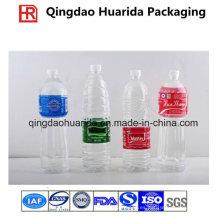 Etiqueta plástica duradera del encogimiento de la botella del PVC de la venta