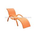 Chaise longue de piscine de rotin d'osier / plage Sun Lounger