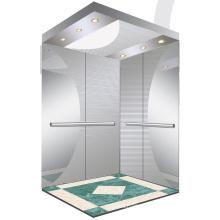Aksen Mirror Etched Machine Room Passenger Elevator J0355