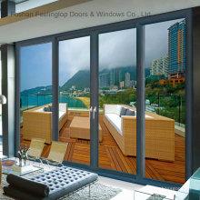 Горячий продавать алюминиевые раздвижные двери Патио дистрибьютором хотел (фут-D143)