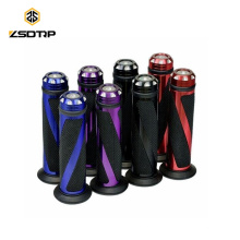 SCL-2015010051 colorful motorcycle handle grip of motorcycle cnc hand bar grip