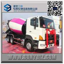 12 M3 Betonmischer LKW 700p Mischer LKW Hino