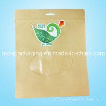 Wholesale Ziplock with Window Tea Bag