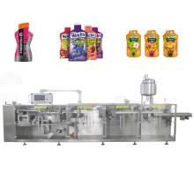 Horizontale Beutel-Flüssigkeitsverpackungsmaschine mit unregelmäßiger Form