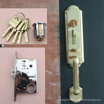 HIGH QUALITY STAINLESS STEEL DOOR LOCKS WITH PLATE
