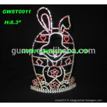 Bunny Rabbit Tiara Easter Pageant Crown
