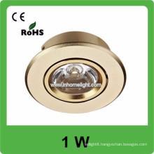 1W high power AC85v-265v 110LM/W Led celling light lamp