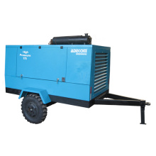 Portable Screw Diesel Engine Driven with Wheels Air Compressor (PUD08-14)