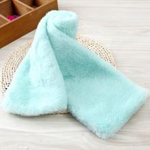 Baby′s Pure Color Knitting Scarf