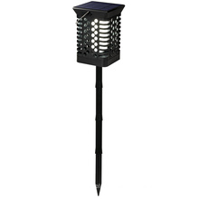 Flickering Flame Light Leds Lantern with Long Stake