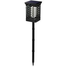 Linterna parpadeante de luz de llama con estaca larga