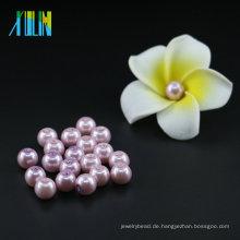 Mode Hohe Qualität UA47 Lila Samt Glas Perle Perlen Tschechische Faux Perlen Schmuck Machen Perlen
