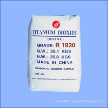 High Opacity First-Degree Rutile Titanium Dioxide for Slap-up Paper Making